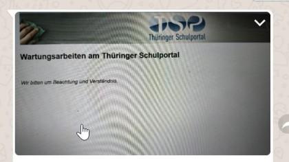 Das sahen viele Schülerinnen und Schüler Anfang Februar auf ihrem Computer-Bildschirm, beim Versuch sich in die Schulcloud einzuloggen. (Screenshot)