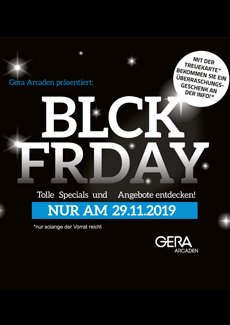 Black Friday in den Gera Arcaden