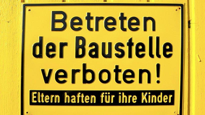 Verstöße auf dem Bau im Kreis Gotha gegen Hygieneregeln