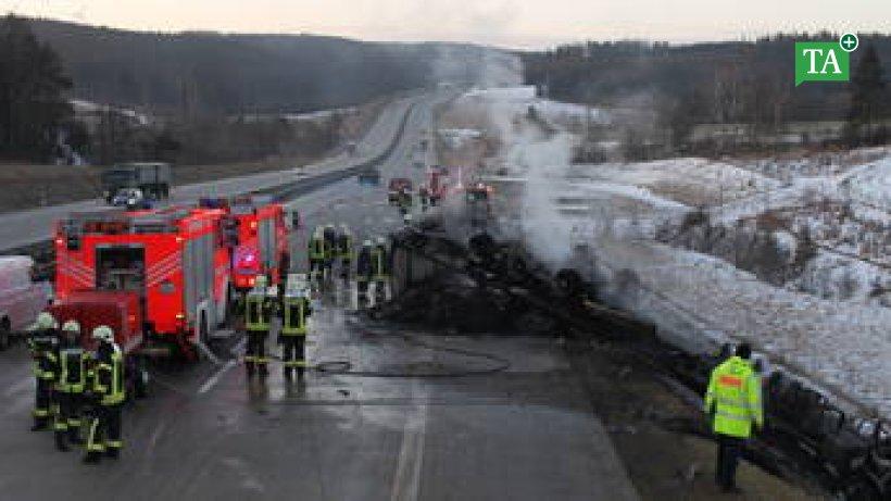 Unfall Saalburg