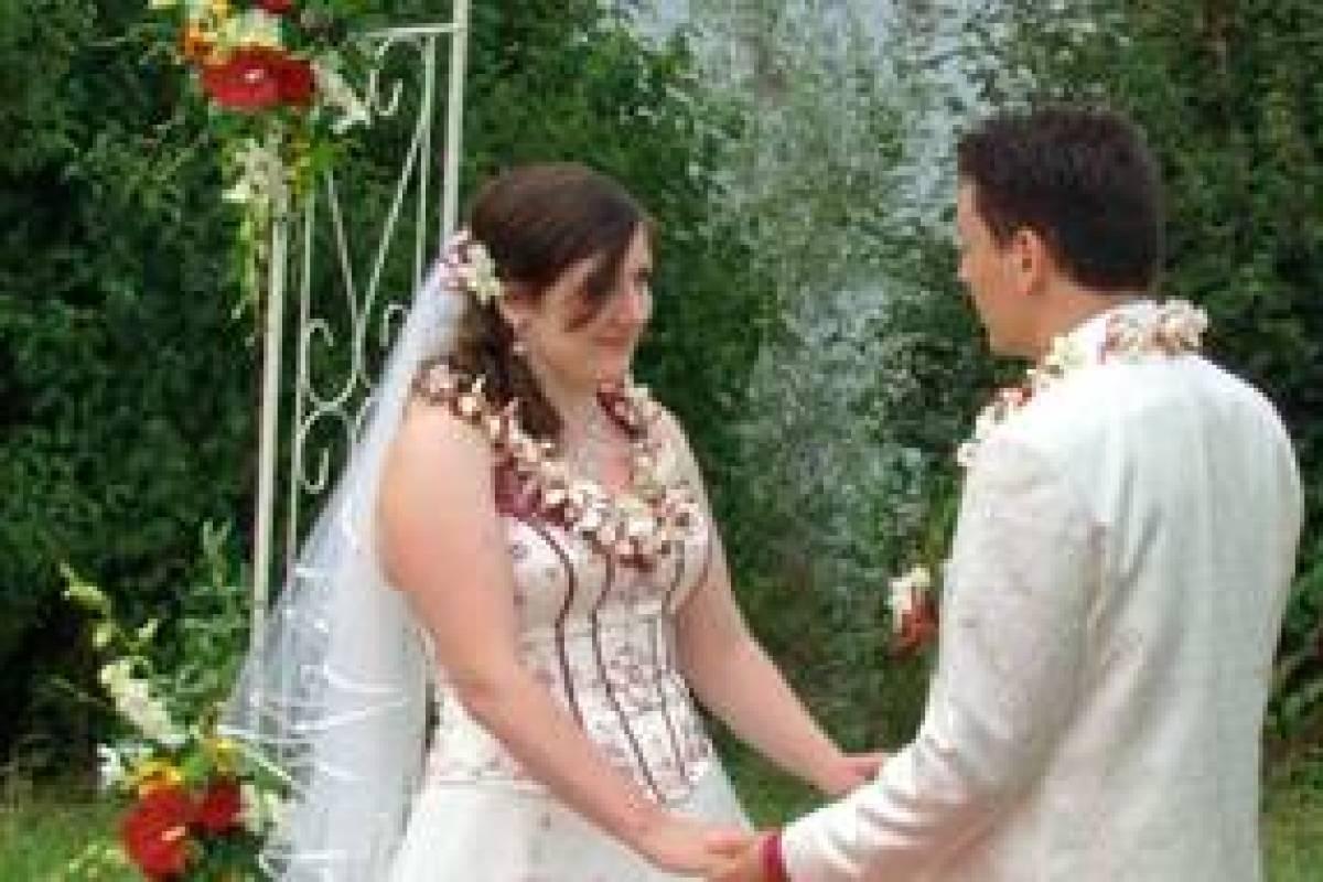 Hochzeit Im Hawaiianischen Stil Soll Zottelstedterin Bei Vox