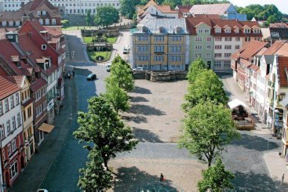 In der Altstadt Gothas werden Ausgleichsbeträge kassiert
