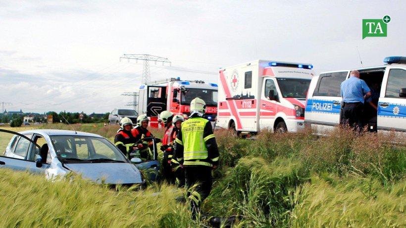 Unfall A4 Freitag
