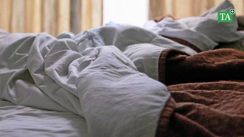 Mann Unterm Bett