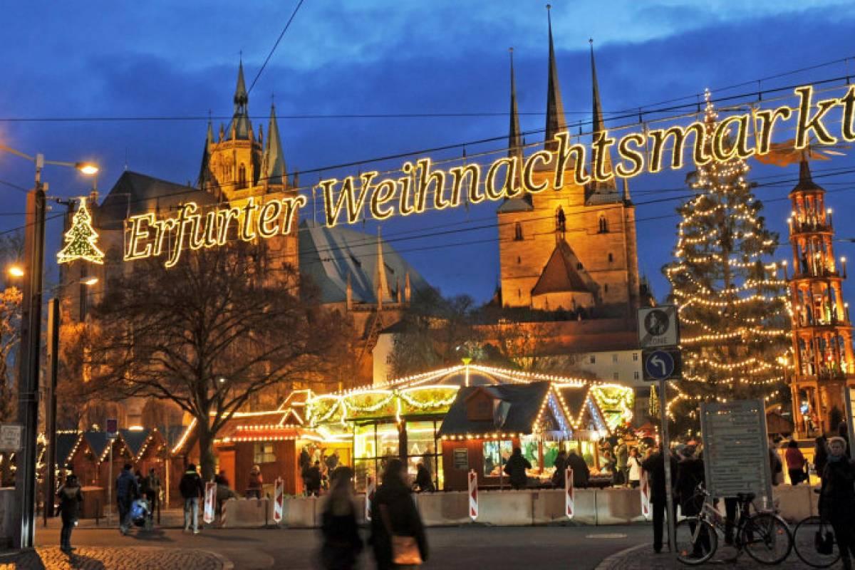 Weihnachtsmarkt Länger Als 24 12.1 75 Millionen Besucher Auf Dem Erfurter Weihnachtsmarkt Land Und
