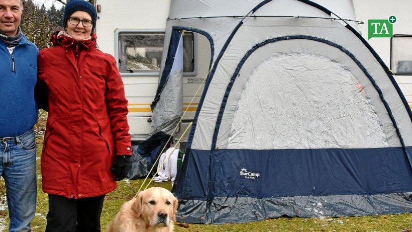 urlaub zum jahreswechsel auf dem campingplatz bei catterfeld gotha th ringer allgemeine. Black Bedroom Furniture Sets. Home Design Ideas