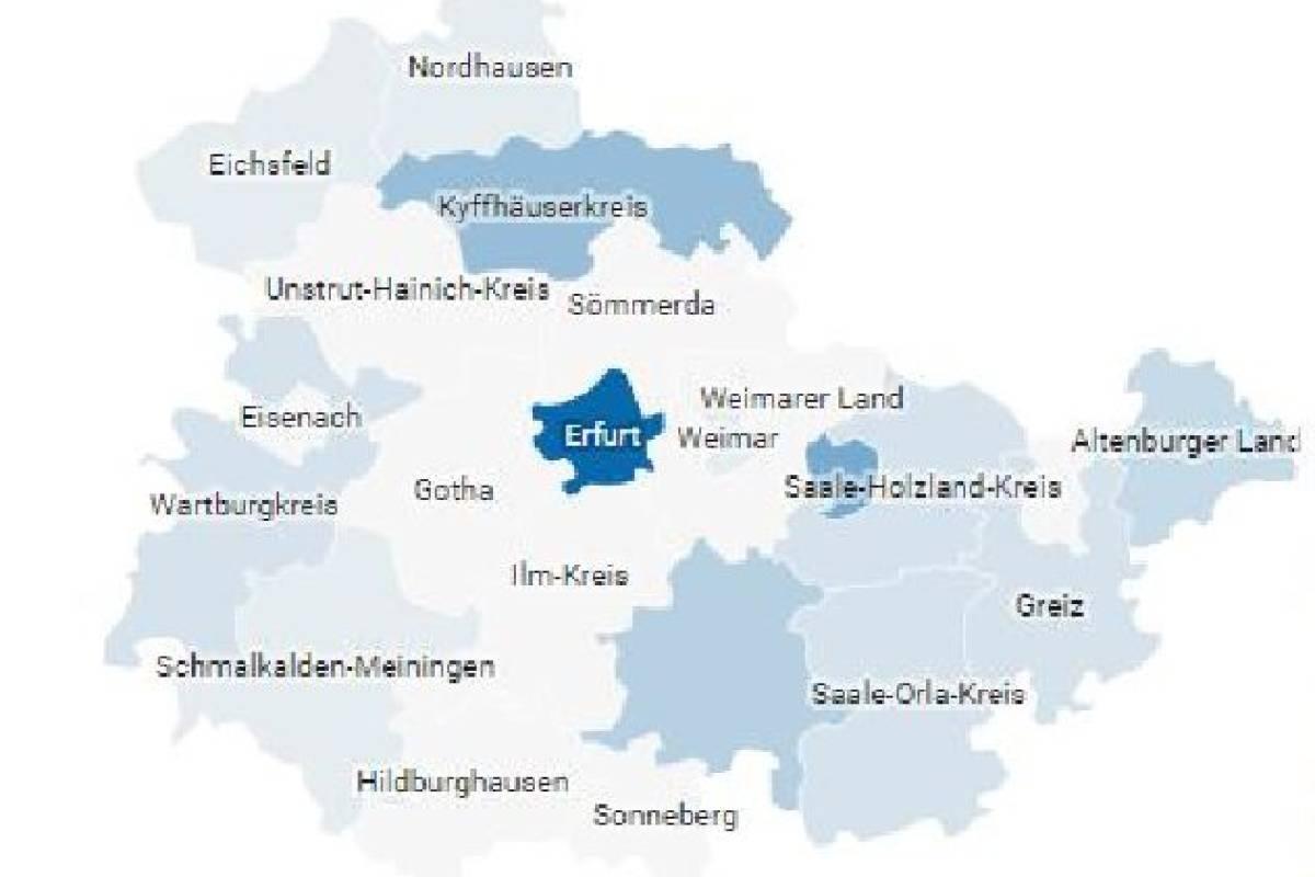 Corona Karte Thuringen Alle Falle Im Freistaat Gesundheit