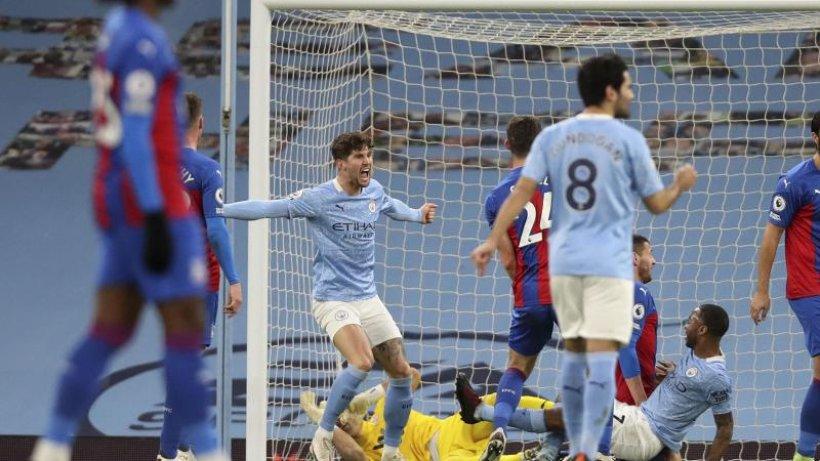 Manchester City überholt Liverpool mit Sieg gegen Palace