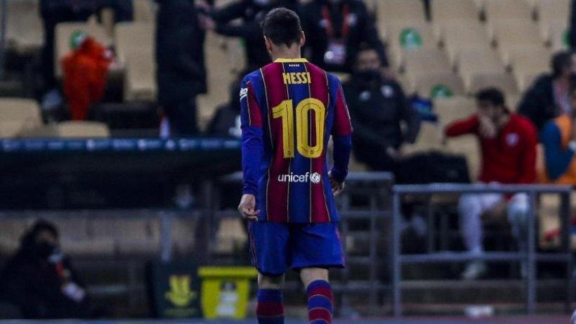 Niederlage für Barcelona im Supercup - Rot für Messi
