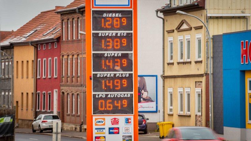 Spritpreise Arnstadt