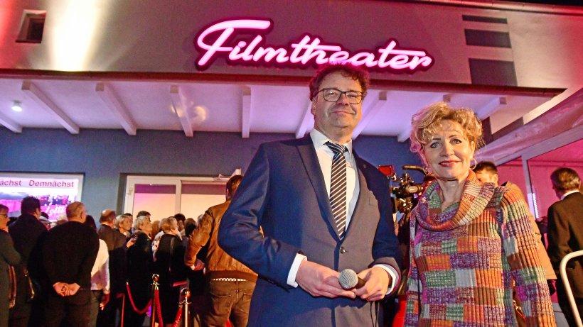 Zu den Gästen der Weltpremiere zählten Landtagspräsidentin Birgit Keller und Bleicherodes Bürgermeister Frank Rostek.