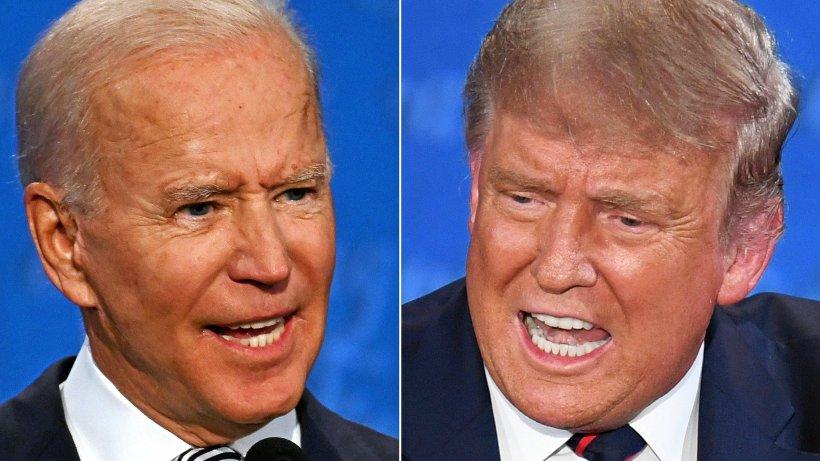 Trump gegen Biden: Das letzte TV-Duell im Live-Ticker