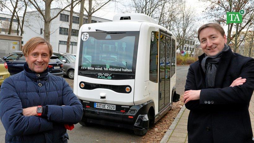 Thüringens erstes Projekt zum automatisierten Nahverkehr  selbstfahrender...